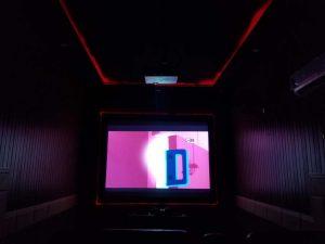 cinema in farm house