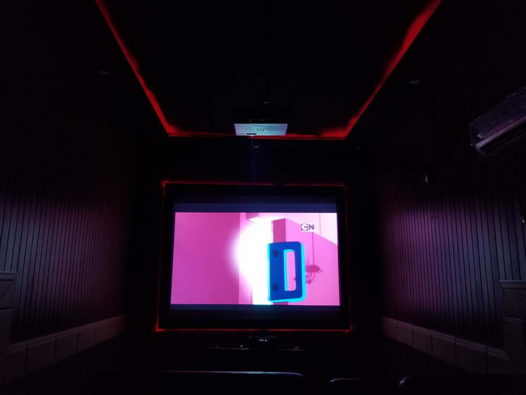 cinema in farm house