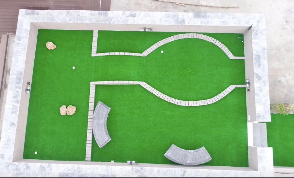 mini golf court in lahore